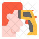Infrared Heat Scan Icon