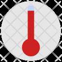 Temperature Condition Hot Icon