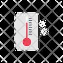 Temperature Climate Christmas Icon