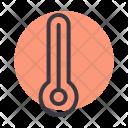 Temperature Reading Forecast Icon