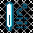 Temperature Temperature In Celsius Thermometer Icon