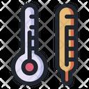 Temperature Thermometer Medical Icon
