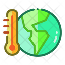 Climate Global Warming Temperature Icon