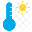 Temperature Sunny Weather Sunny Atmosphere Icon