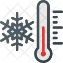 Temperature Freezing Snow Icon