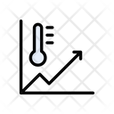 Temperature Chart Icon
