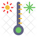 Temperature Control Meteorology Weather Icon