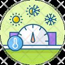 Temperature Control Temperature Gauge Temperature Monitoring Icon
