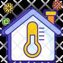 Temperature Controller House Temperature Home Climate Icon