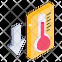 Temperature Thermometer Temperature Down Icon