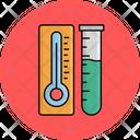 Temperature Flask Icon