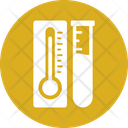 Temperature Flask Flask Biotechnology Icon