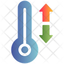 Thermometer Temperature Winter Icon