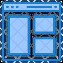 Website Design Browser Icon