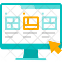 Template Web Layout Page Icon