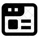 Template Web Layout Layout Icon