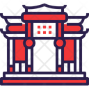 Chinese Paifang Architecture Icon