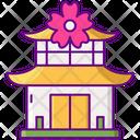 Mtemple Temple Japan Icon