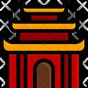 Temple Ancient Architecture Icon