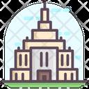 Temple Building Mausoleum Landmark Icon