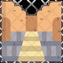 Temple Of Hatshepsut Temple Egyptian Templereligious Icon