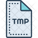 Temporary Document Archive Icon