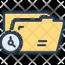 Temporary Tempora Makeshift Icon