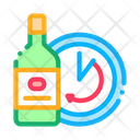 Temporary Aging Wine Icon