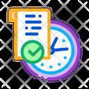 Temporary Document Hackathon Icon