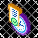Temporary Document Icon