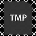 Temporary File File Extension Icon