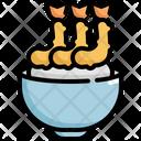Tempura Rice Seafood Icon