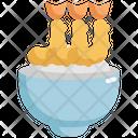Tempura Fries Rice Icon