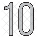Numbers Days 10 Icon