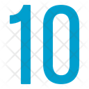 Ten Numbers Icon