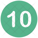 Ten Number Icon