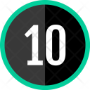 Ten Number Count Icon