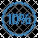 Ten Percent Discount Icon