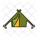 Tend Camp Camping Icon