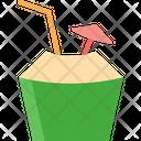 Tender Coconut Cocnut Healthy Fruit Icon