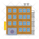 Tenement and garage Icon