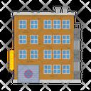 City Building Tenement Icon