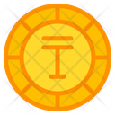 Tenge Coin Currency Icon