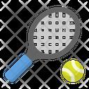 Ball Racket Tennisgame Icon