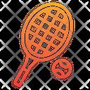 Tennis Lawn Tennis Racket Icon