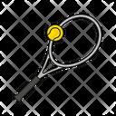 Tennis Tennis Racket Sport Icon
