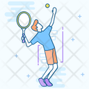 Tennis Outdoor Game Sports Equipment Icon