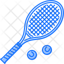 Tennis Rackets Sport Icon