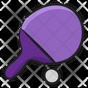 Tennis Bat Tennis Racket Game Icon