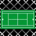 Tennis Field Grass Icon